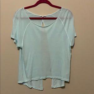 Talula | open back shirt